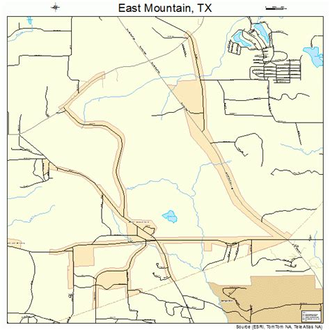 mountain texas map east mountain texas map 4822168