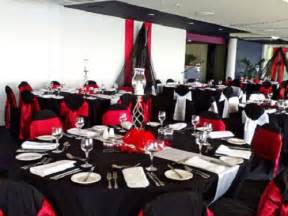 Black White And Red Decorating Ideas Beautiful And Elegant Photos Of Red And Black Wedding