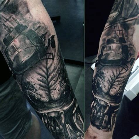 sci fi tattoos 50 predator designs for sci fi ink ideas
