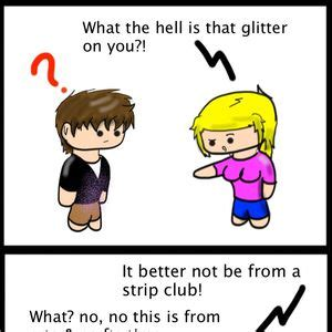 Glitter Meme - glitter meme 28 images if someone tells you you re