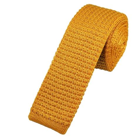 knitted silk ties uk plain gold silk knitted tie from ties planet uk