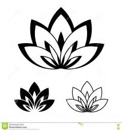 Lotus Is A Symbol Of Lotus Flower As A Symbol Of Stock Vector Image