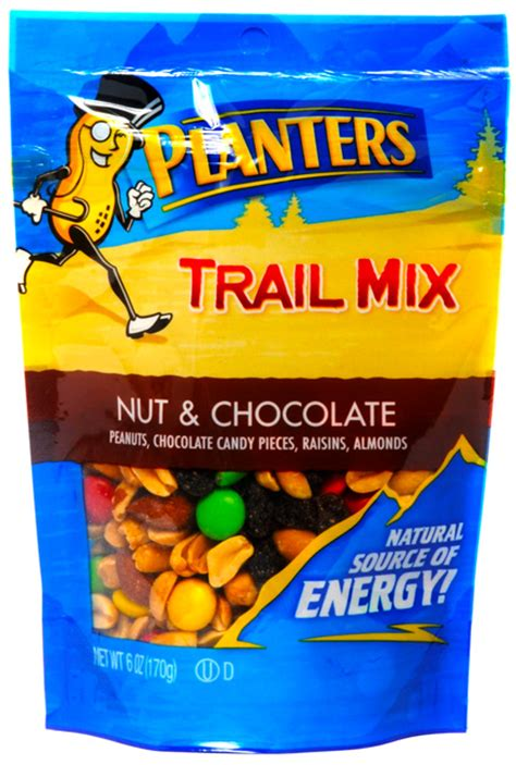 planters trail mix nut chocolate 6oz happyspeedy
