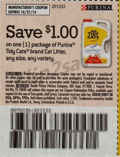 printable coupons for cat food and litter purina tidy cats manufacturer coupon cute cats