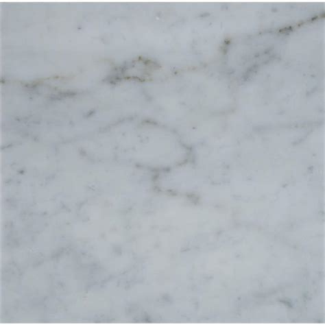 Carrara Marble Floor Tile Ms International Carrara White 12 In X 12 In Honed Marble Floor And Wall Tile 10 Sq Ft