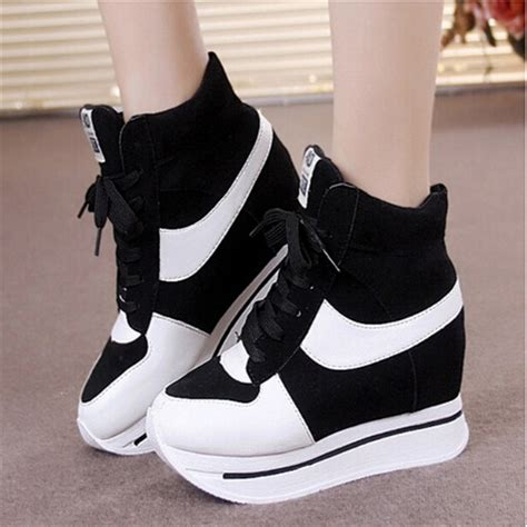 platform sport shoes 2015 autumn winter sneakers shoes platform sneakers