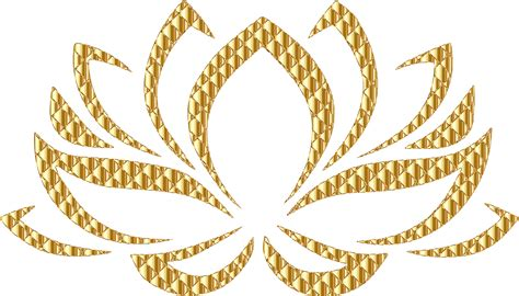 golden pattern png gold flower pnf