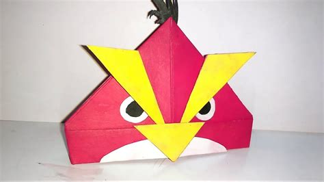 Angry Birds Origami - create paper angry birds at home origami it is