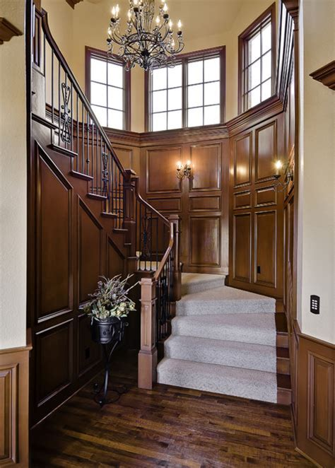 Old World Staircase   Traditional   Staircase   little