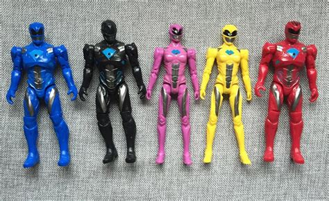Figure Power Rangers 5pcs 5pcs power rangers figure jason play