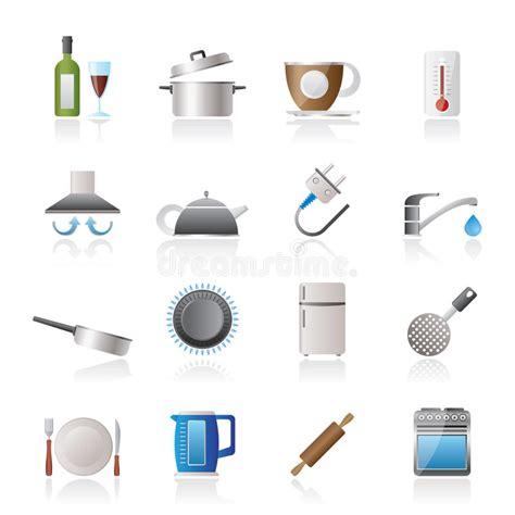 clipart cucina oggetti della cucina ed icone degli accessori