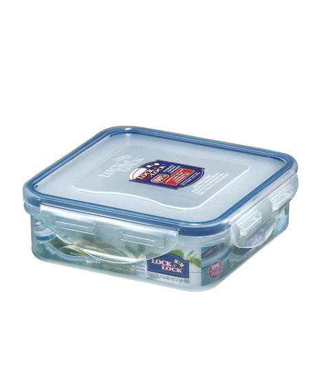 Promo Lock N Lock Container Tempat Makan Classic Gift Set lock lock classic polypropylene pp square food container with leak proof locking lid buy