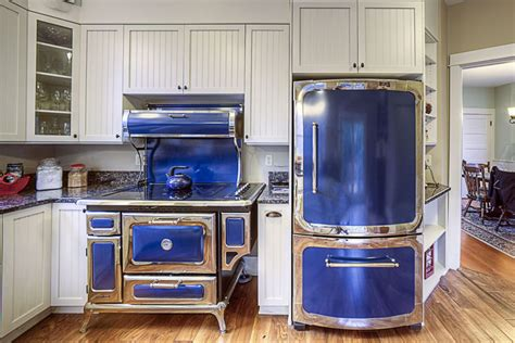 blue kitchen appliances blue kitchen appliances 25 blue and white kitchens design ideas designing idea