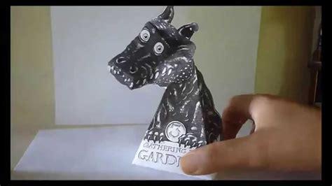imagenes en 3d ilusiones opticas tutorial como hacer ilusion 243 ptica dragon 3d de papel