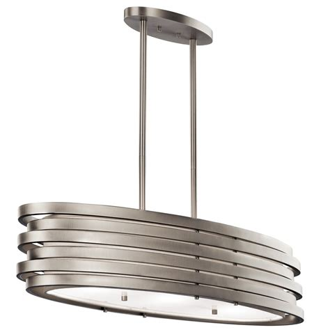Contemporary Kitchen Ceiling Lights Modern Oval Kitchen Island Pendant Or Dining Table Light