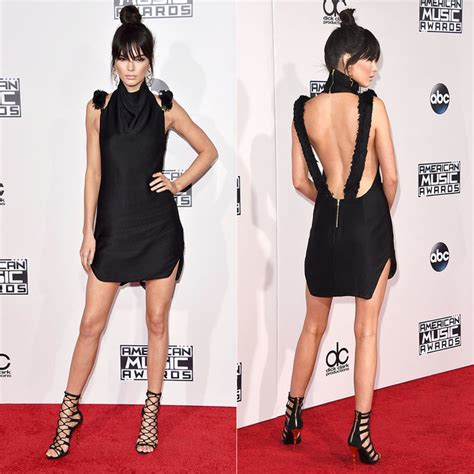 How Carpet Is Made by See Kendall Jenner S Back Baring Amas Minidress And Her