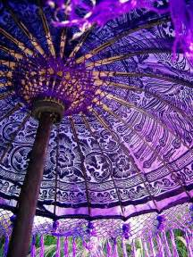 Purple Patio Umbrella Balinese Parasol Home Colors Textiles