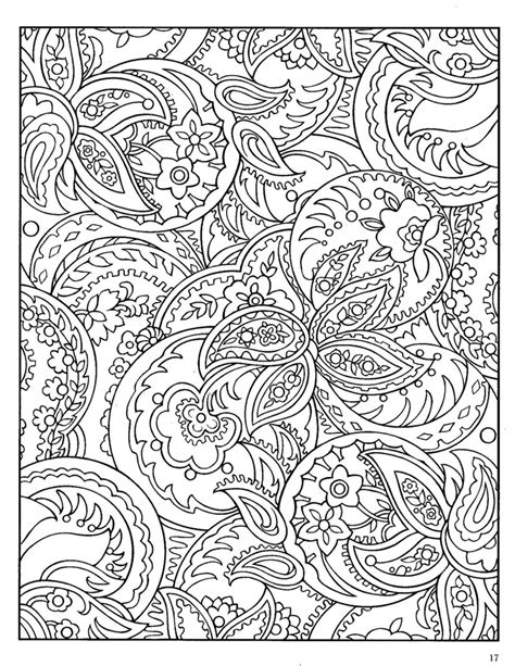 coloring page designs indian designs on paisley design paisley and