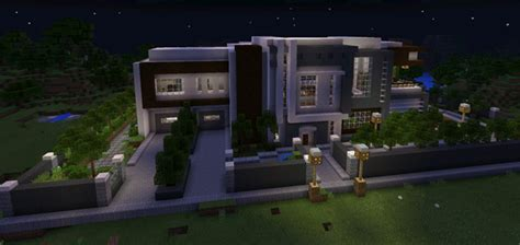 Rooms In A House by Modern Mansion Creation Minecraft Pe Maps
