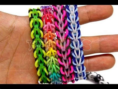 rainbow loom tribal fishtail bracelet easy rainbow loom fans awe snap