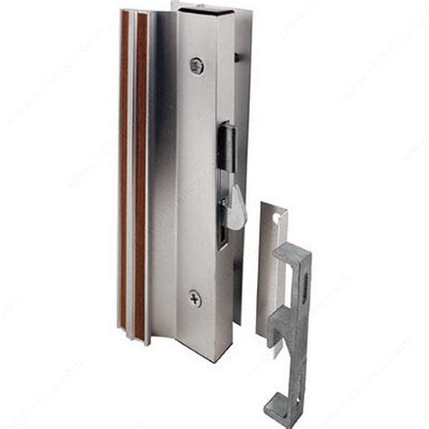 Patio Door Locks Hardware Hook Style Patio Door Handle Set Richelieu Hardware