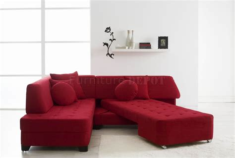 red sleeper sofa red sectional sleeper sofa tourdecarroll com