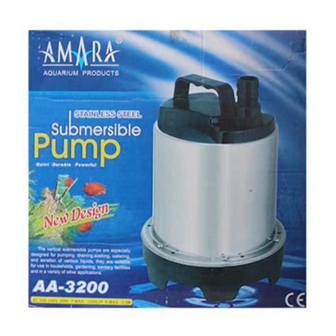 Pompa Hisap Aquarium jual amara aa 3200 hidroponik akuarium pompa air aquarium