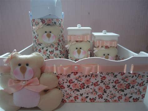 decorar kit de bebe kit beb 234 ursa salm 227 o ternura em feltro elo7