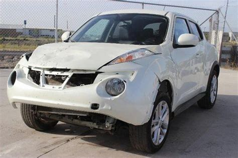 how to sell used cars 2012 nissan juke seat position control buy new 2012 nissan juke sl awd damaged rebuilder economical loaded priced to sell l k in salt