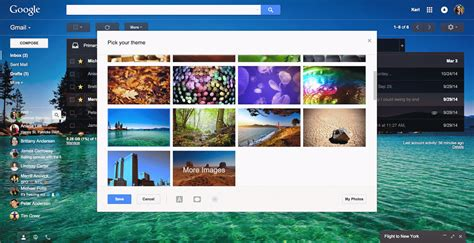 google themes awesome official gmail blog express yourself in email hundreds