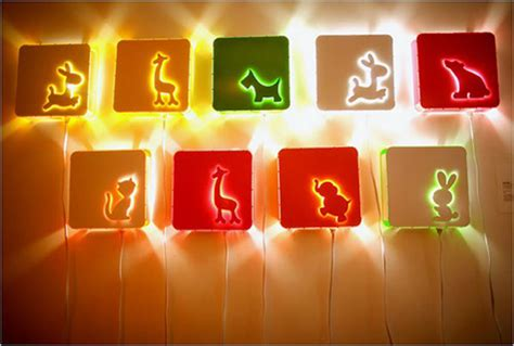 Toddler Bedroom Decorating Ideas animal kids lamps