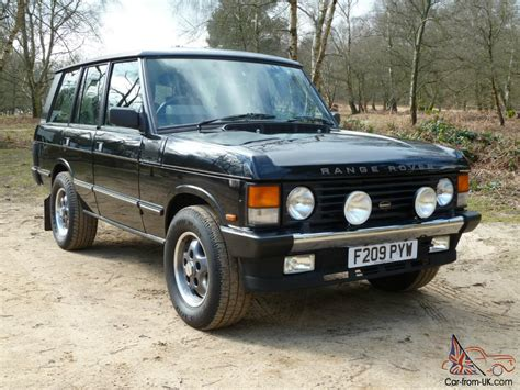land rover overfinch 1989 rover range rover overfinch 500i