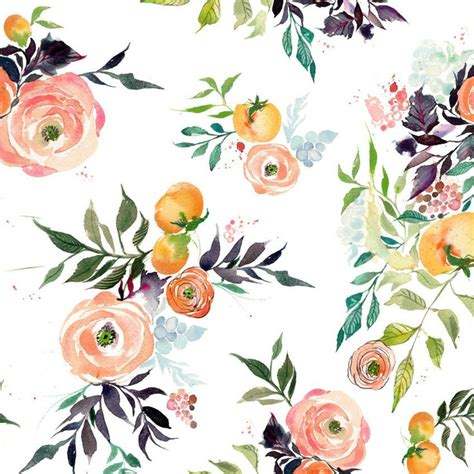 pattern fiori 25 best ideas about floral patterns on flower
