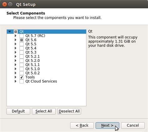 tutorial qt creator linux how to install qt5 qt creator on ubuntu 15 10 wily linux