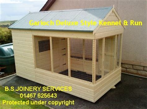 dog house with attached kennel garage dog kennel plans san plans