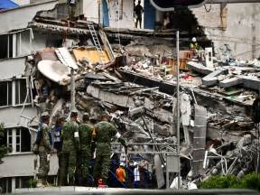 Search For In Mexico Rescuers In Grim Search For Survivors Of Mexico Quake Business Recorder