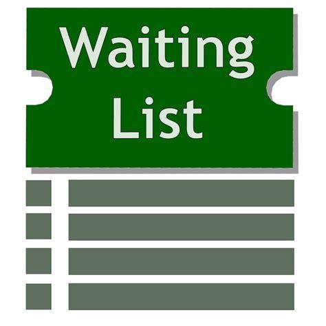 Waiting List events waiting list ebts