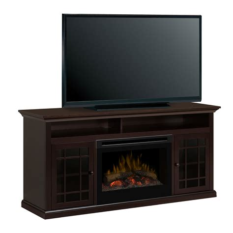 Media Consoles With Electric Fireplace by Hazelwood Electric Fireplace Media Console Gds25 1388dr