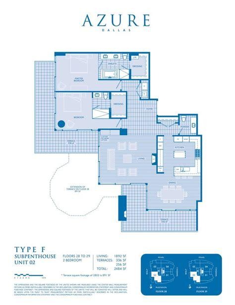 the azure floor plan floor plans azure condos of dallas