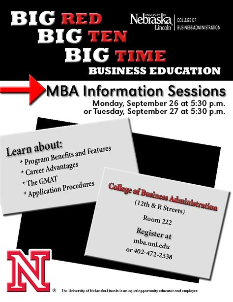 How To Dress Up At Information Sessions Mba by Mba Information Sessions Announce Of