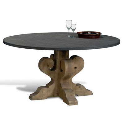 tin top dining table 47 best pedestal dining tables images on