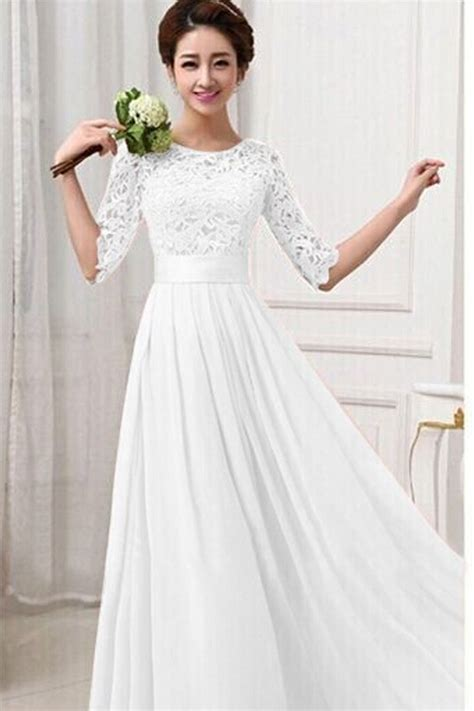 dress design in white colour jhonpeters women winter party dresses lace designed long
