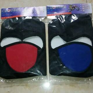Harga Masker Wajah Kain aksesoris pengendara motor grosir sarung tangan grosir
