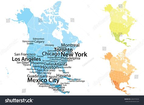 usa map with big cities america cities www pixshark images galleries