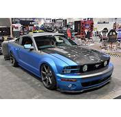 SEMA 2013 TMI Products 2005 Ford Mustang  NO Car Fun