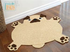 mops teppich 4 name crocheting the pugfect pug rug crochet pattern