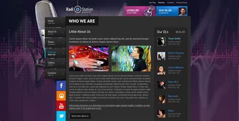 radio template  radio station website template