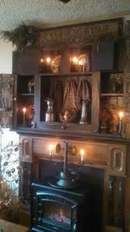 primitive fireplace decor best 25 primitive fireplace ideas on