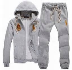 Logo ralph lauren polo hooded sweat suits for men counter genuine