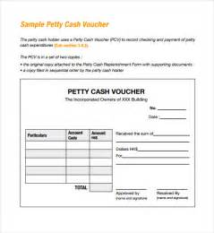 voucher booklet template sle petty voucher template 9 free documents in